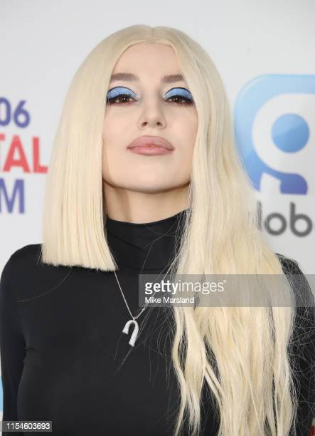 Ava Max attends the Capital FM Summertime Ball at Wembley Stadium on June 08 2019 in London England