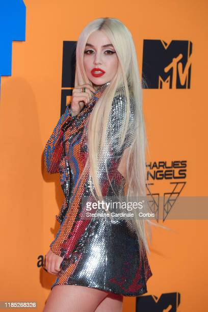 Ava Max attends the MTV EMAs 2019 at FIBES Conference and Exhibition Centre on November 03, 2019 in Seville, Spain.