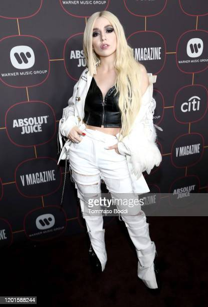 Ava Max attends the Warner Music Group Pre-Grammy Party at Hollywood Athletic Club on January 23, 2020 in Hollywood, California.