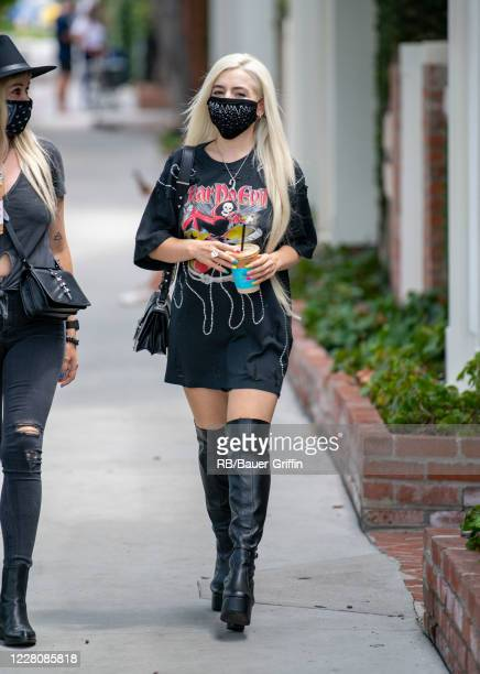 Ava Max is seen on August 17, 2020 in Los Angeles, California.