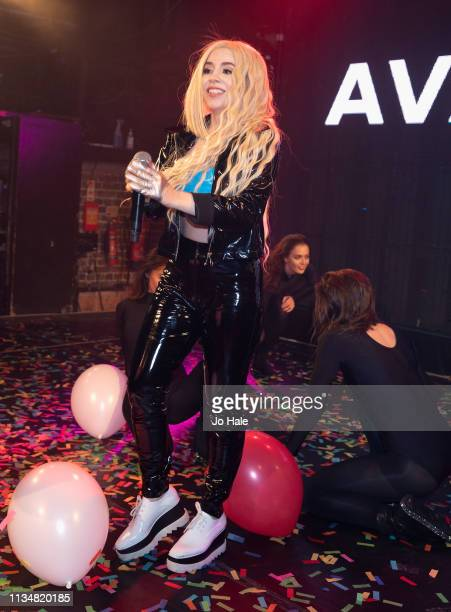 Ava Max performs at GAY Heaven on March 09 2019 in London England