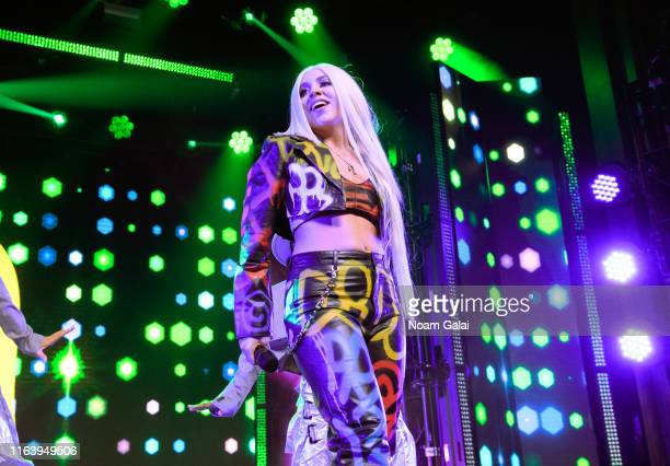 Ava Max performs at the 2019 MTV VMA Kick Off Concert at Webster Hall on August 24 2019 in New York City