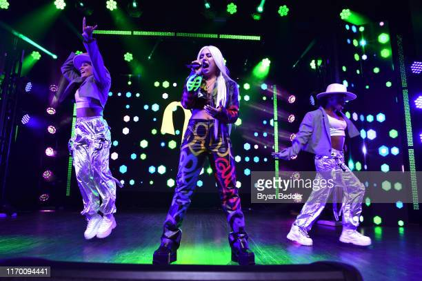 Ava Max performs at VMA Kick Off Concert Presented By Altice Amplify With Special Guests Bishop Briggs And Ava Max at Webster Hall on August 24, 2019...
