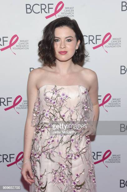 Ava Mcintosh attends the Breast Cancer Research Foundation Hot Pink Gala hosted by Elizabeth Hurley at Park Avenue Armory on May 17 2018 in New York...