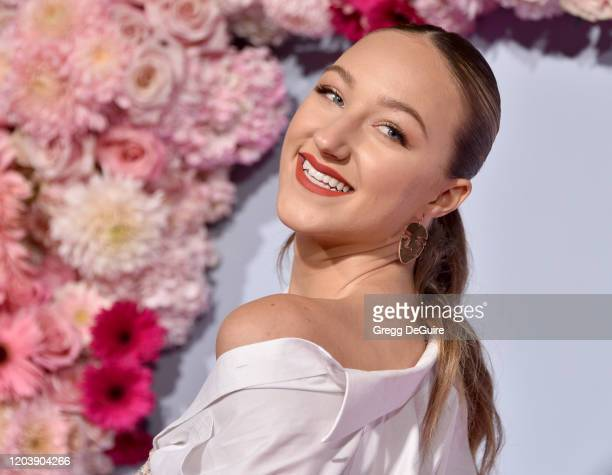 Ava Michelle attends the Premiere Of Netflix's To All The Boys PS I Still Love You at the Egyptian Theatre on February 03 2020 in Hollywood California