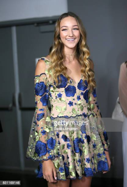 Ava Michelle Cota attends Day 2 of the 5th Annual Beautycon Festival Los Angeles at the at Los Angeles Convention Center on August 13 2017 in Los...