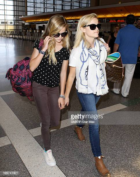 Ava Phillippe and Reese Witherspoon as seen on May 31 2013 in Los Angeles California