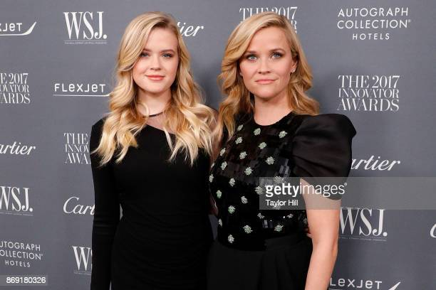 Ava Phillippe and Reese Witherspoon attend the 2017 WSJ Magazine Innovator Awards at Museum of Modern Art on November 1, 2017 in New York City.