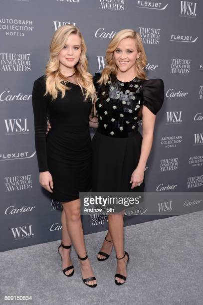 Ava Phillippe and Reese Witherspoon attend the WSJ Magazine 2017 Innovator Awards at MOMA on November 1 2017 in New York City