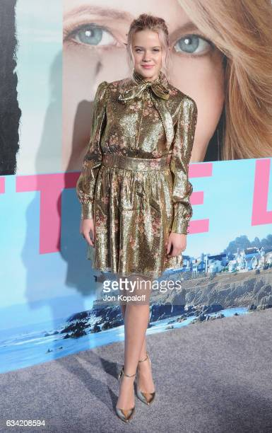 Ava Phillippe arrives at the Los Angeles premiere 'Big Little Lies' at TCL Chinese Theatre on February 7 2017 in Hollywood California