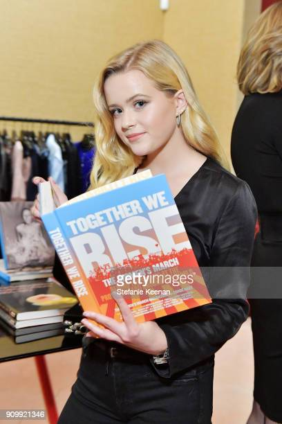 Ava Phillippe attends Conde Nast The Women March's Cocktail Party to Celebrate the One Year Anniversary of the March the Publication of Together We...