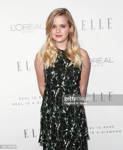 Ava Phillippe attends ELLE's 24th Annual Women in Hollywood Celebration at Four Seasons Hotel Los Angeles at Beverly Hills on October 16 2017 in Los...