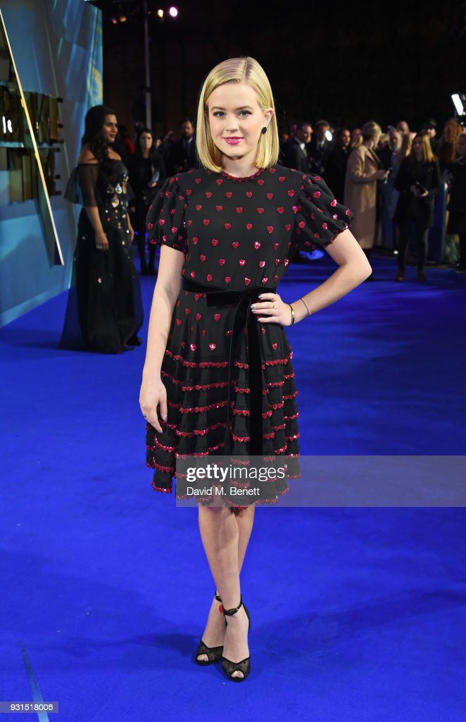 Ava Phillippe attends the European Premiere of 'A Wrinkle In Time' at the BFI IMAX on March 13, 2018 in London, England.