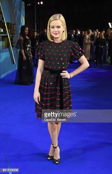 Ava Phillippe attends the European Premiere of A Wrinkle In Time at the BFI IMAX on March 13 2018 in London England
