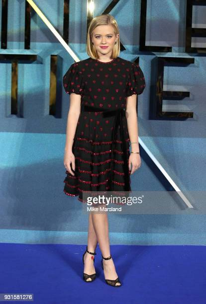 Ava Phillippe attends the European Premiere of 'A Wrinkle In Time' at BFI IMAX on March 13 2018 in London England