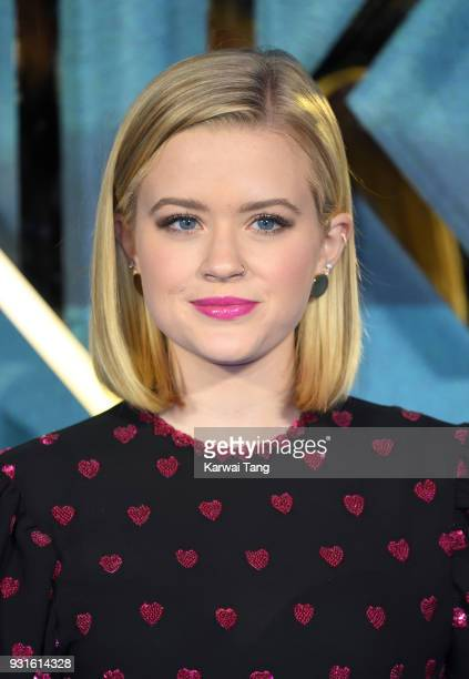 Ava Phillippe attends the European Premiere of 'A Wrinkle In Time' at BFI IMAX on March 13, 2018 in London, England.