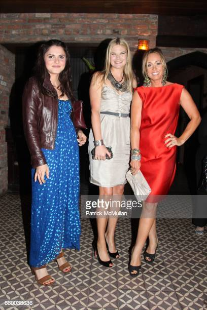Ava Rollins Kate Shelter and Tracy Smith attend House of Lavande Hosts the Nest Foundation Gala at Bowery Hotel on May 1 2009 in New York City