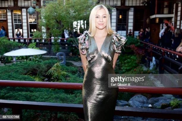 Ava Sambora attends the Wolk Morais Collection 5 Fashion Show at Yamashiro Hollywood on May 22 2017 in Los Angeles California