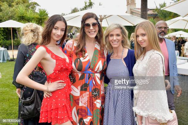Ava Weintraub Liane Weintraub Jane Buckingham and Lilia Buckingham attend 2018 Best Buddies Mother's Day Brunch Hosted by Vanessa Gina Hudgens on May...