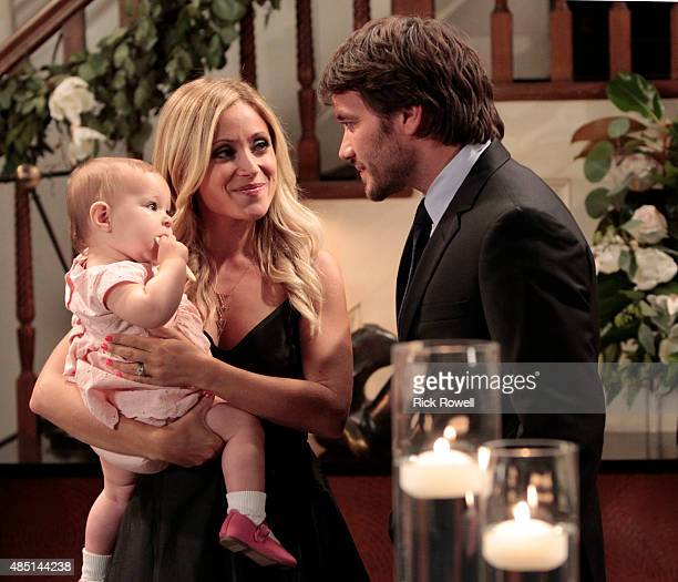 HOSPITAL Ava/Grace Scarola Emme Rylan and Dominic Zamprogna in a scene that airs the week of September 7 2015 on ABC's 'General Hospital' The...