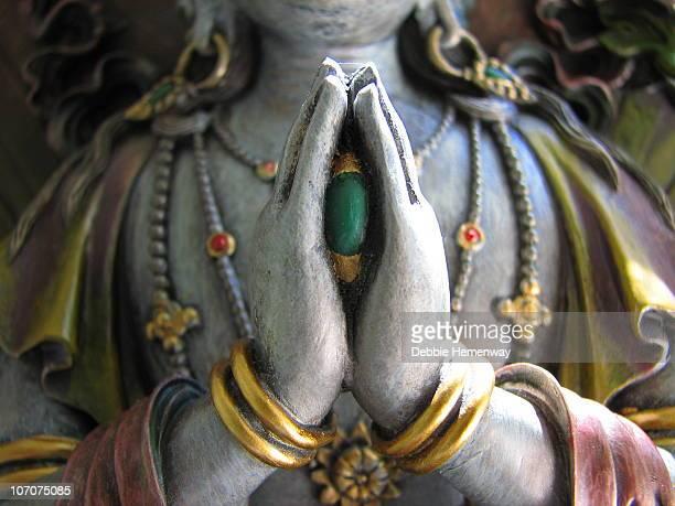 avalokiteshvara - guanyin bodhisattva stock pictures, royalty-free photos & images