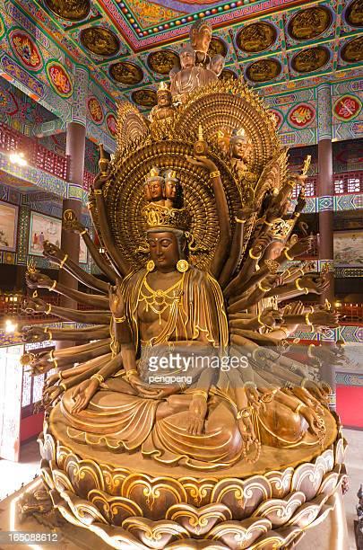 avalokitesvara guanyin - guanyin bodhisattva stock pictures, royalty-free photos & images