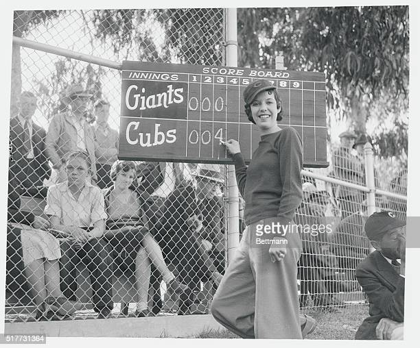 Avalon Catalina Island Kay Brown She's Only Girl Score Keeper In United States Kay Brown who as official scorer for the Chicago Cubs is the only girl...