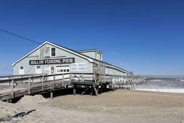Avalon Fishing Pier in the Outer Banks.