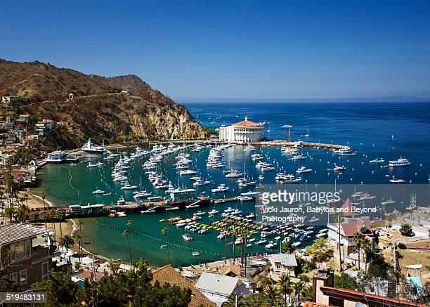 Avalon Harbor, Catalina Island, California