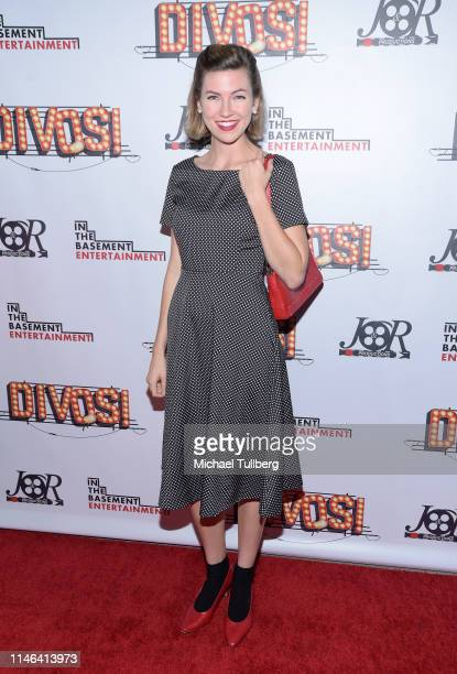 Avalon Penrose attends a Los Angeles VIP industry screening with the filmmakers and cast of DIVOS at TCL Chinese 6 Theatres on May 01 2019 in...