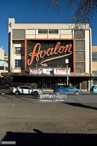 Avalon Theatre now derelict once a renowned nonwhite cinema furing the apartheid era