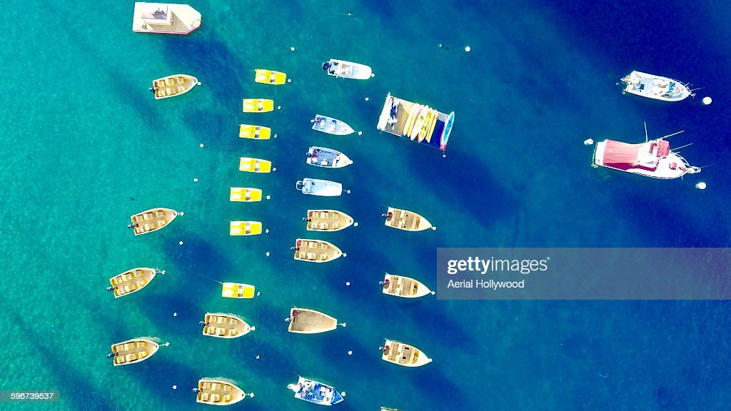 Avalona Bay Boats : Stock Photo
