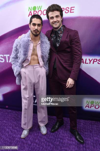 Avan Jogia and Beau Mirchoff attend the Now Apocalypse Los Angeles Premiere at Hollywood Palladium on February 27 2019 in Los Angeles California