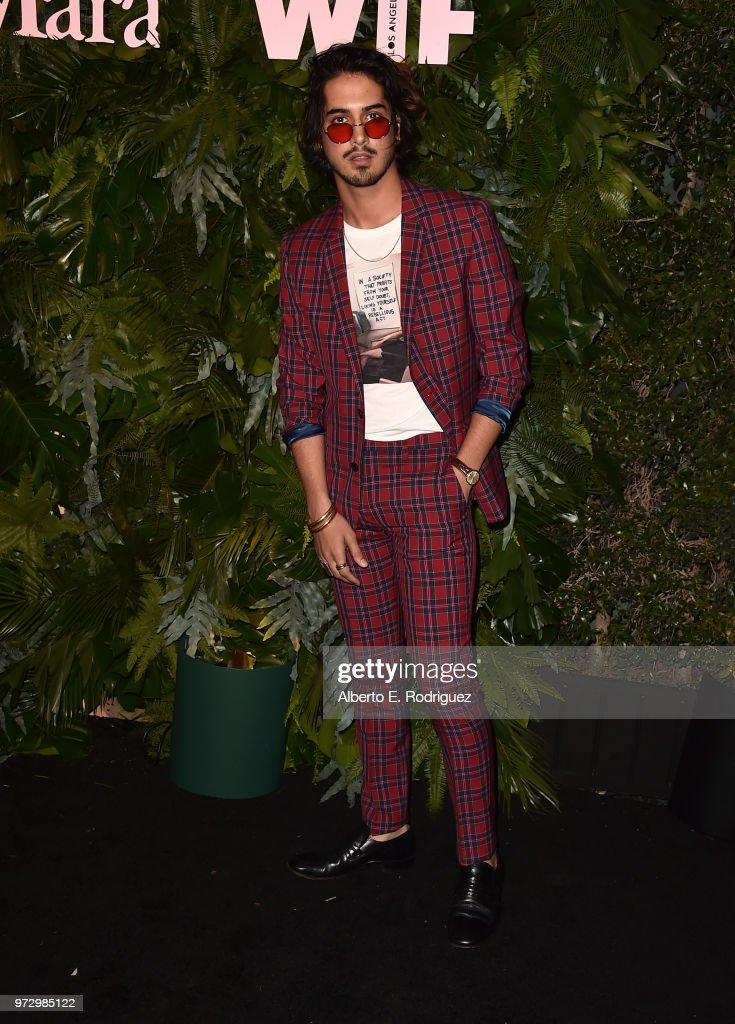 Avan Jogia attends Max Mara Women In Film Face of the Future at Chateau Marmont on June 12, 2018 in Los Angeles, California.