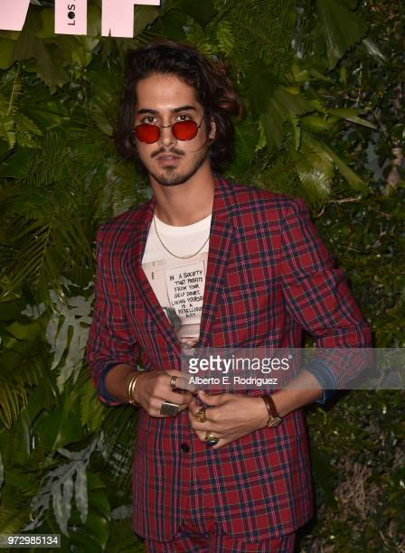 Avan Jogia attends Max Mara Women In Film Face of the Future at Chateau Marmont on June 12 2018 in Los Angeles California