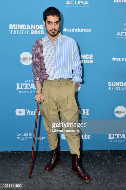 Avan Jogia attends the Gregg Araki's New Starz Series Now Apocalypse Premiere during the 2019 Sundance Film Festival at Library Center Theater on...