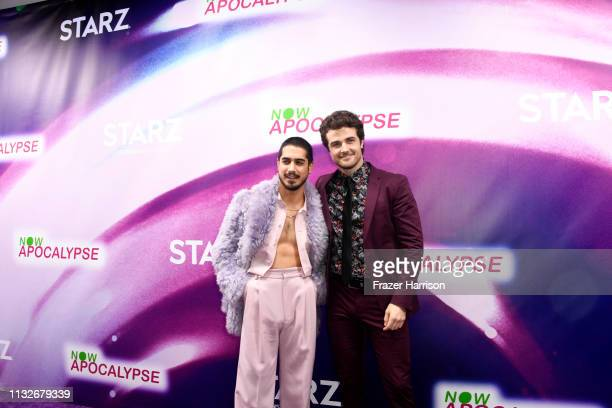 Avan Jogia Beau Mirchoff attend the 'Now Apocalypse' Los Angeles Premiere at Hollywood Palladium on February 27 2019 in Los Angeles California