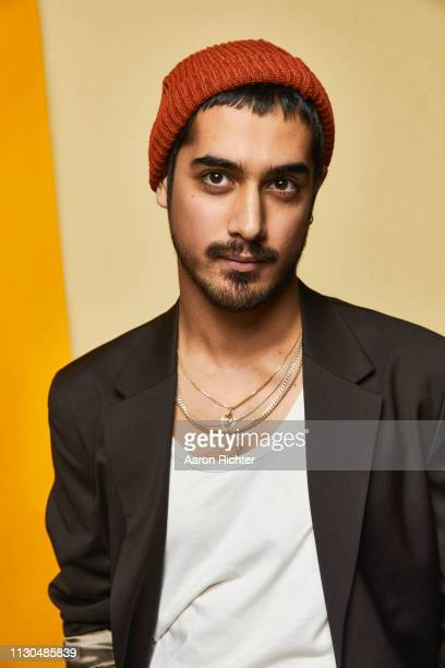 Avan Jogia from 'STARZ' Now Apocalypse' poses for a portrait in the Pizza Hut Lounge in Park City Utah on January 27 2019 in Park City Utah