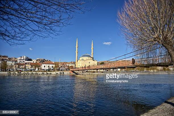 avanos river and town - emreturanphoto stock pictures, royalty-free photos & images