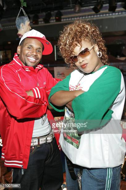 Avant Da Brat during BET New Faces Talent Search at Excalibur in Chicago Illinois United States