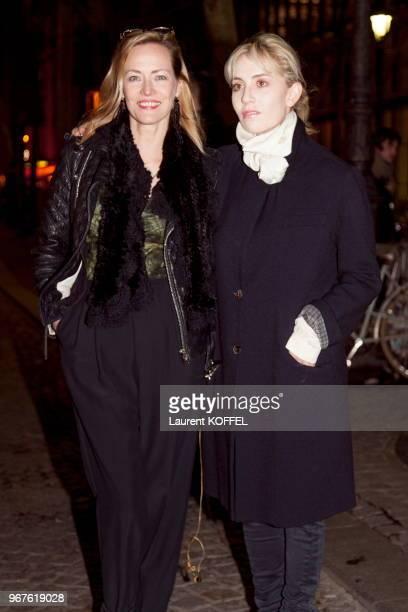 Avant premiere du film 'Passer L'hiver' avec Gabrielle Lazure et Lolita Chammah au cinema MK2 Beaubourg le 13 janvier 2014 Paris France
