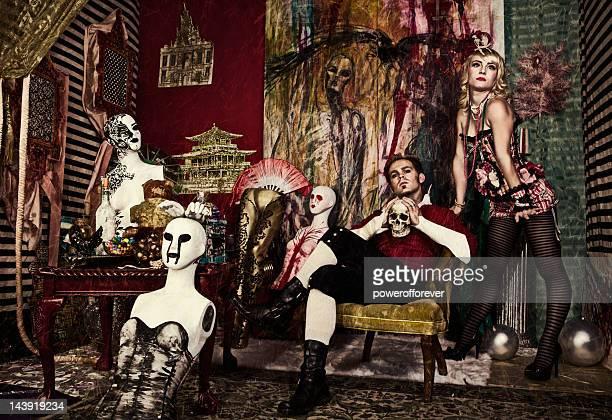 Avant-Garde Gothic Fashion
