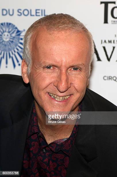 'Avatar' Film Director James Cameron poses at the Opening Night for the New York Premeire of Cirque Du Soleil's 'Toruk' inspired by the James Cameron...