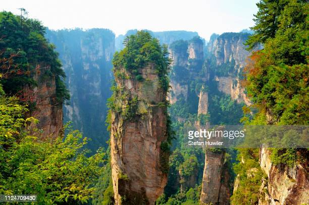 --Avatar-- mountains with vertical quartz sandstone rocks, Zhangjiajie National Park, Hunan Province, China
