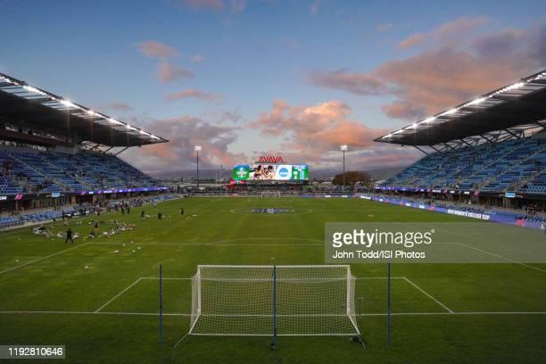 Avaya Stadium during a game between UNC and Stanford Soccer W at Avaya Satdium on December 8 2019 in San Jose California