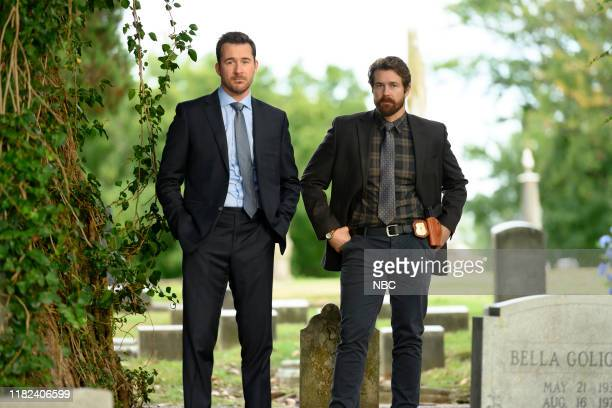 LAW Ave Maria Episode 109 Pictured Barry Sloane as Jake Reilly Josh Kelly as Robbie Ellis