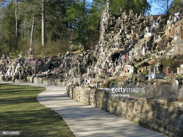 Ave Maria Grotto by Brother Joseph Zoettl, Cullman, Alabama