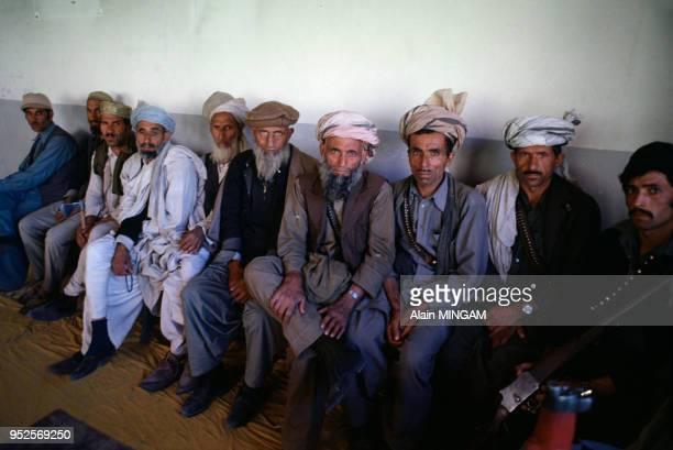 Avec les rebelles afghans pendant la guerre civile, avril 1979, Afghanistan.