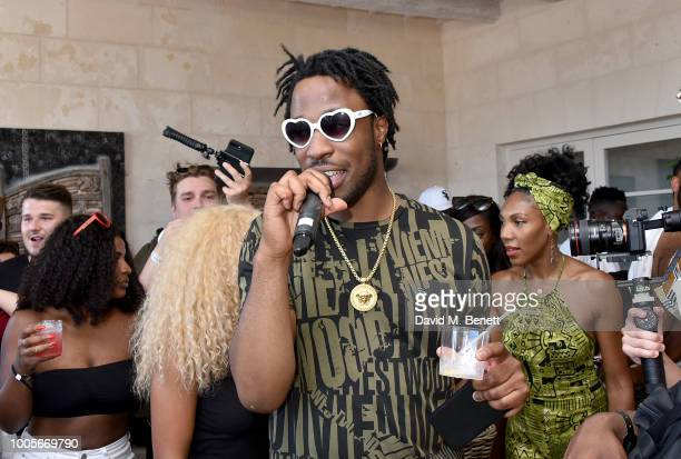Avelino attends as Spotify Premium throws the ultimate party in Spain for Stormzy's 25th birthday on July 26 2018 in Menorca Spain
