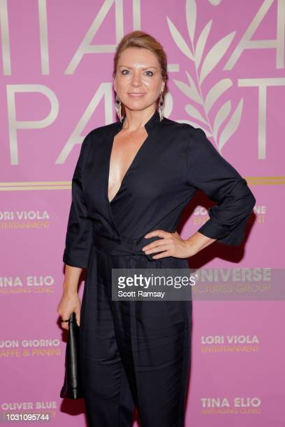 Avelyn Graye attends The Italian Party during 2018 Toronto International Film Festival celebrating Excelsis movie at Aqualina at Bayside on September...